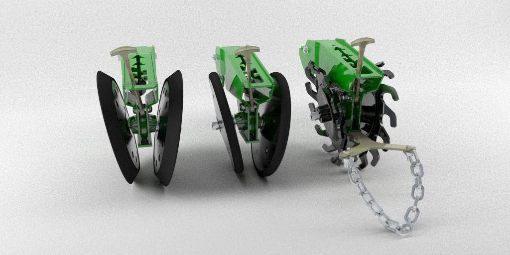 Притъпкващи колела за PL5500